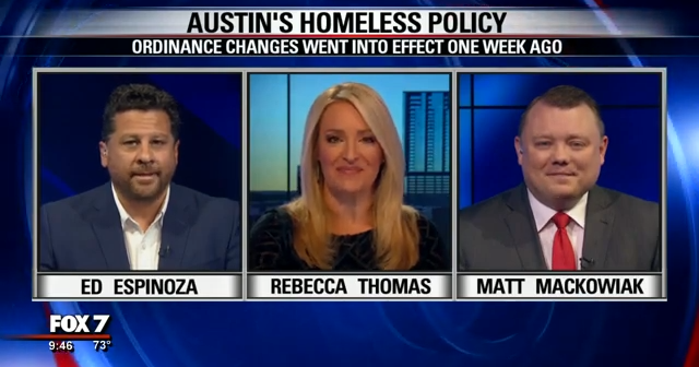 Homelessness ordinances in Austin