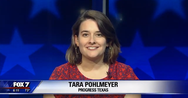 Tara Pohlmeyer on FOX 7 Austin