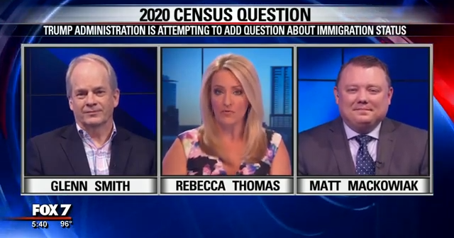 Glenn W. Smith on Census