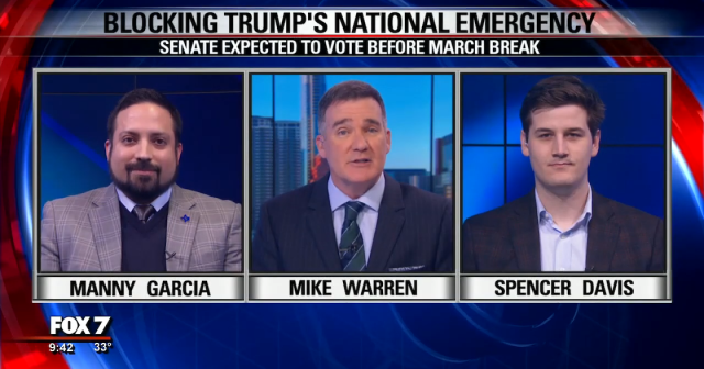 Fox 7 Blocking Trump's National Emergency