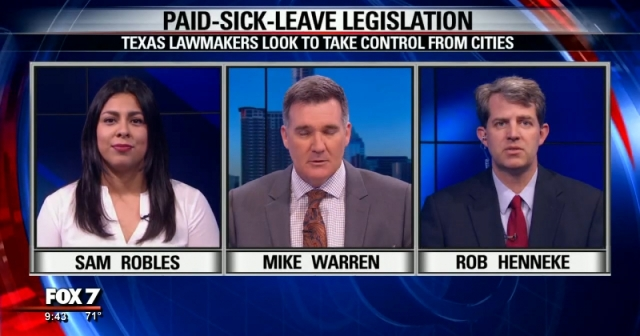 Sam Robles Advocacy Director talks about Paid-Sick-Leave Legislation