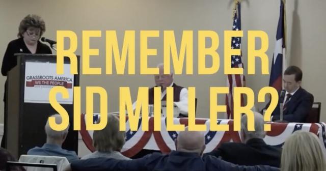 Remember Sid Miller?