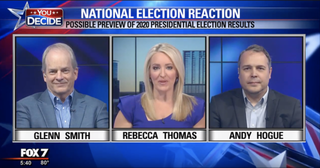Glen Smith on Fox 7 discussing 2019 Statewide elections and 2020 Presidential Campaigns