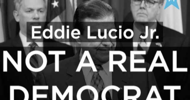 Eddie Lucio Jr. is not a Democrat