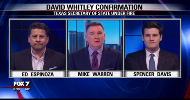 FOX 7 - David Whitley Secretary of State discussion