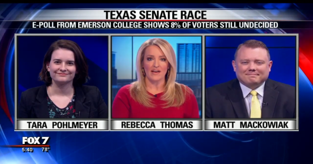 Texas Senate polling