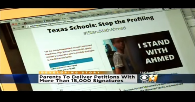 #iStandWithAhmed Coverage: CBS 11