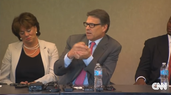 Rick Perry on Bribery Indictment
